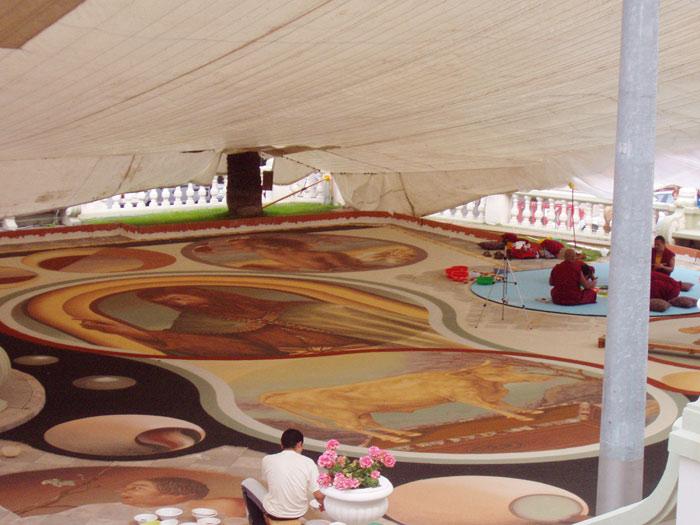 Teppich aus Sand, La Ororava - Teneriffa