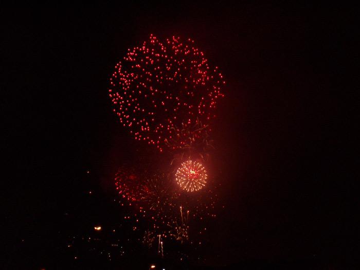 Feuerwerk Los Realejos - Teneriffa