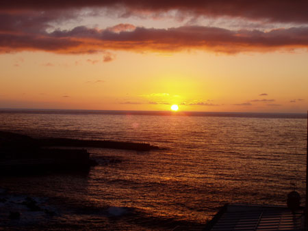 Sonnenuntergang, Puert de la Cruz - Teneriffa