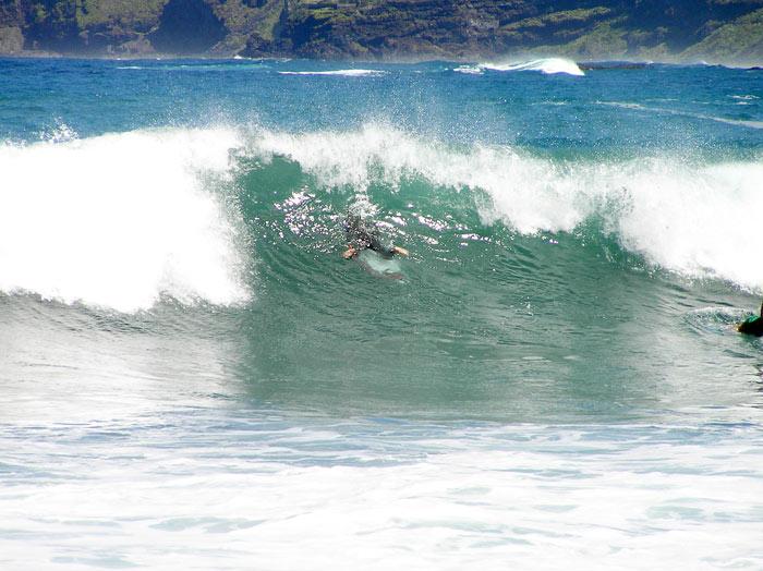 Wellen Punta del Hidalgo - Teneriffa