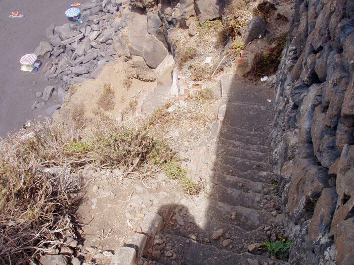 playa El Ancón, La Orotava