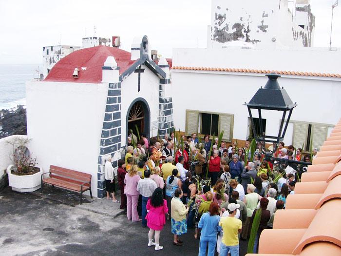 Semana Santa: Palmsonntag-Messe in Punta Brava