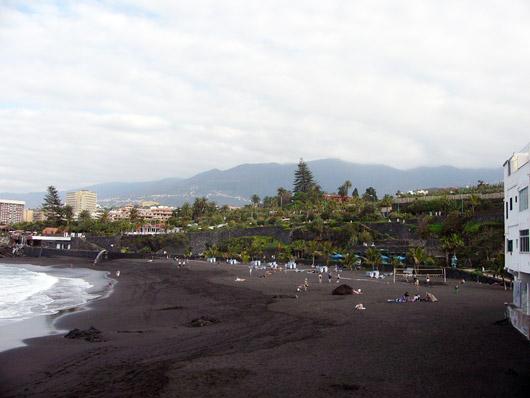 Playa Jardín, Puerto de la Cruz - Teneriffa
