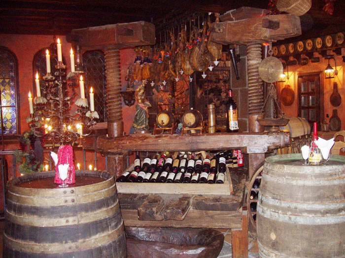 Restaurant el Monasterio im Orotavatal