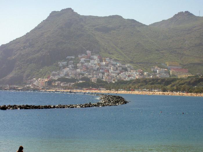 San Andres und Playa de las Teresitas Strand