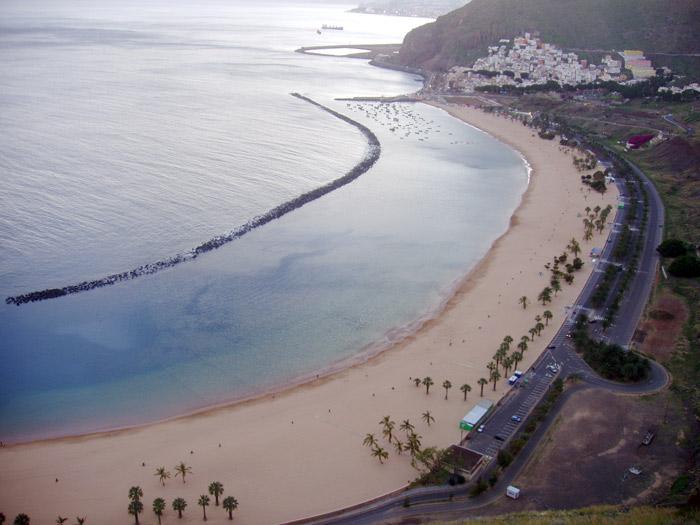 Playa de las Teresitas, Santa Cruz - Teneriffa