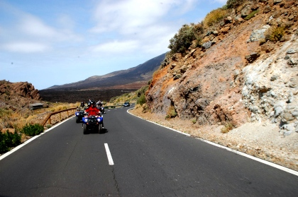 Quadtour Teide, Teneriffa
