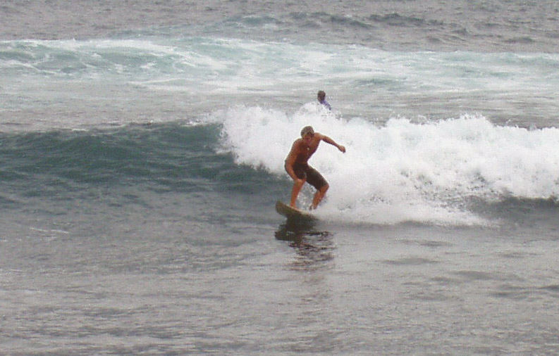 Nick, surfen in Puerto de la Cruz