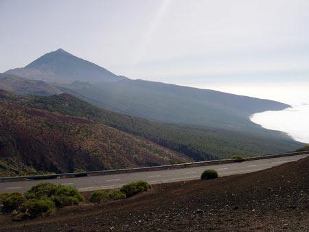 Teide über der ewigen Wolke, Teneriffa