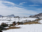 Schneelandschaft, Teneriffa