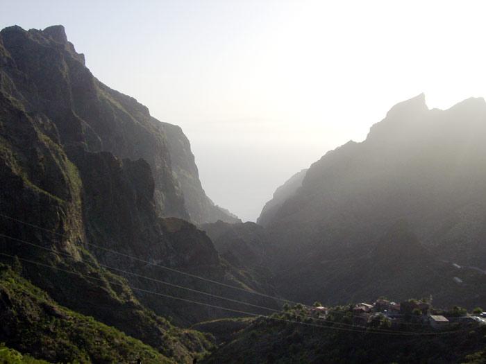 Tal im Teno-Gebirge -  Teneriffa