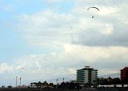 Paraglider Puerto de la Cruz