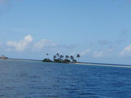 Kleine Insel in der Karibik
