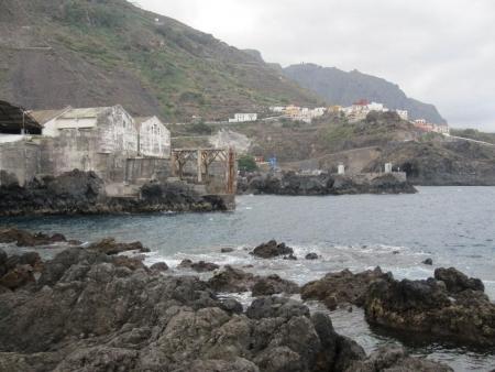 alte Hafenanlage Garachico