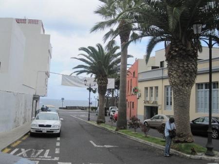 Altstadt Blick auf das Meer