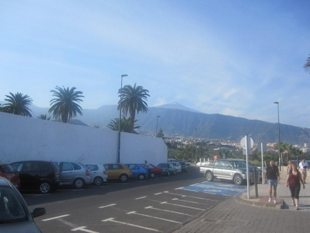 Blick  Teide