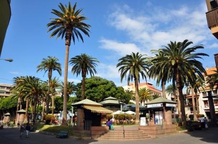 Canariasfoto-Plaza del charco, Puerto de la Cruz