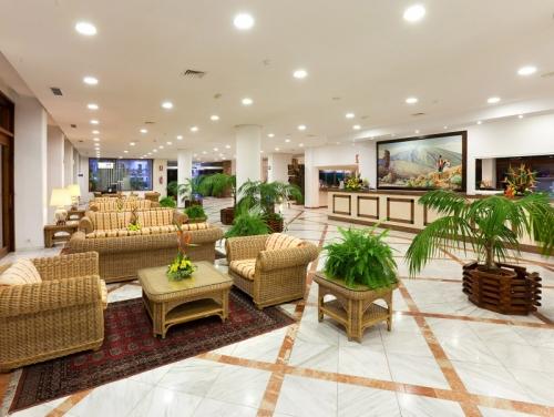 Empfangshalle im Hotel Puerto de La Cruz