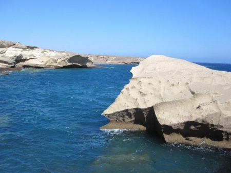 Felsen Teneriffa Wasser