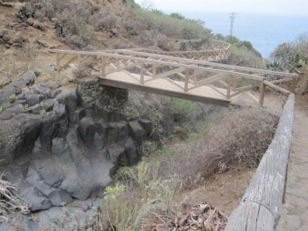 Holzbrücke Barranco