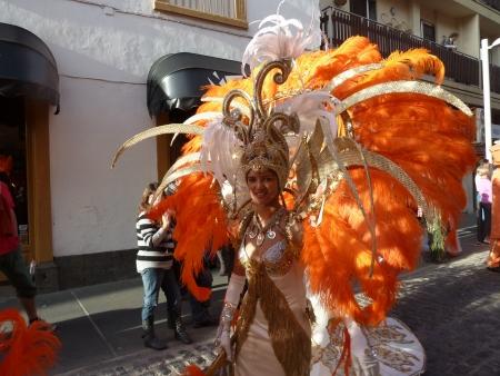 Karneval Tänzerin