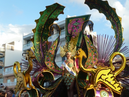 Karnevalskönigin 2011 Puerto de la Cruz