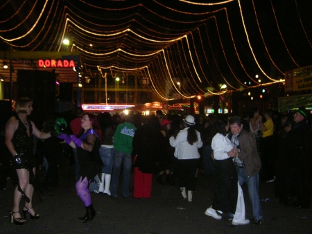 Karnevalsparty in Puerto de la Cruz