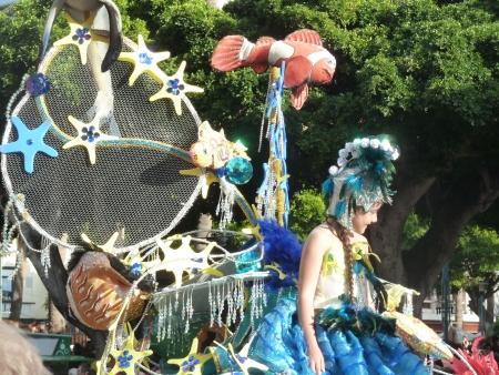 Kinderkönigin Karneval Teneriffa