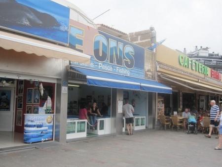 Läden Hafen