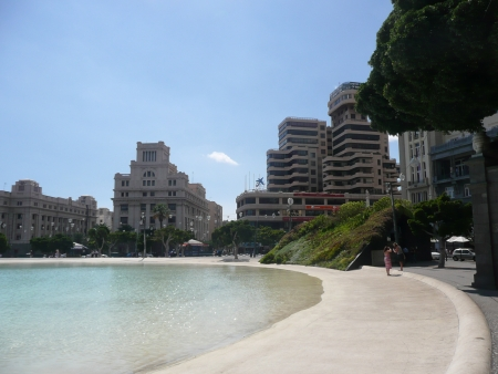 Playa plaza de España