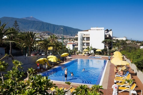 Pool im Hotel Puerto de La Cruz
