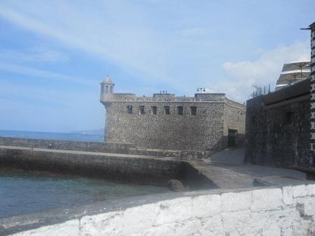 Puerto Cruz Hafenmole