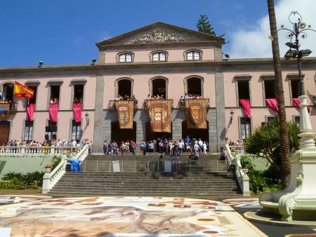 Rathaus La Orotava, Fiestas del Corpus Cristi