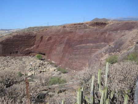 Sandgrube Teneriffa