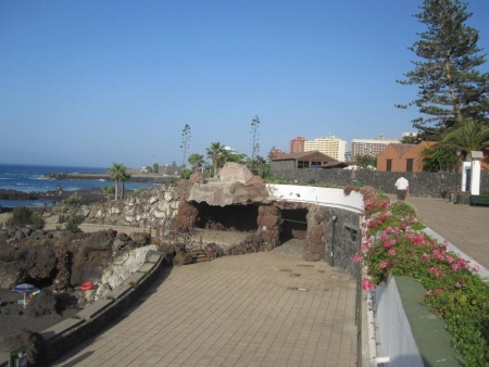 strandgrotte promenade playa jardin