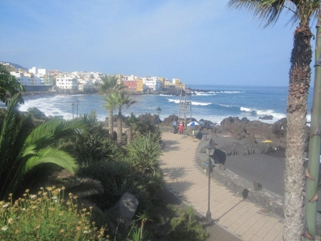 Strandpromenade playa jardin