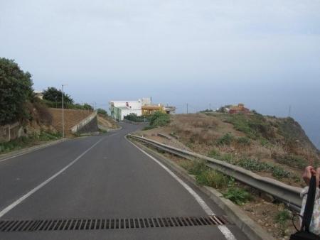 Straße Abstieg