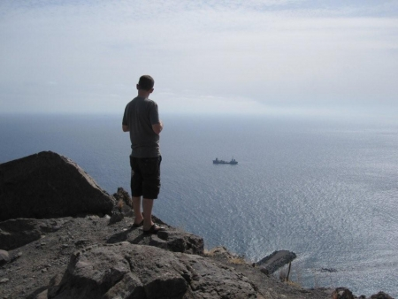 Teneriffa hoch über dem Meer