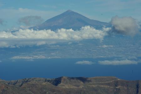Teneriffa von Gran Canaria