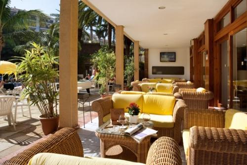 Terrasse Hotel Puerto de La Cruz