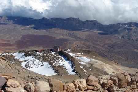 Trekking Blick vom Teide