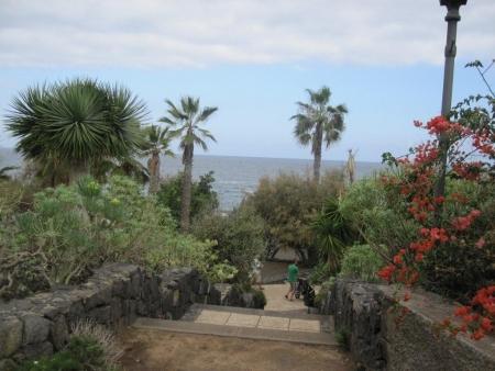 Treppe Promenade, Playa Jardin