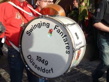 Trommler des Karnevalsvereins Düsseldorf