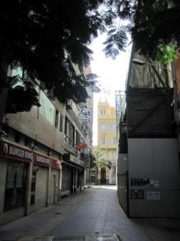 Typische Altstadtgasse