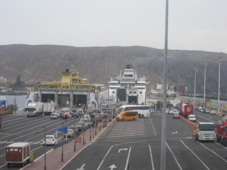 Verladeplatz  Fähren