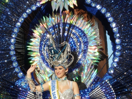 Zweite Karnevalskönigin Puerto de la Cruz